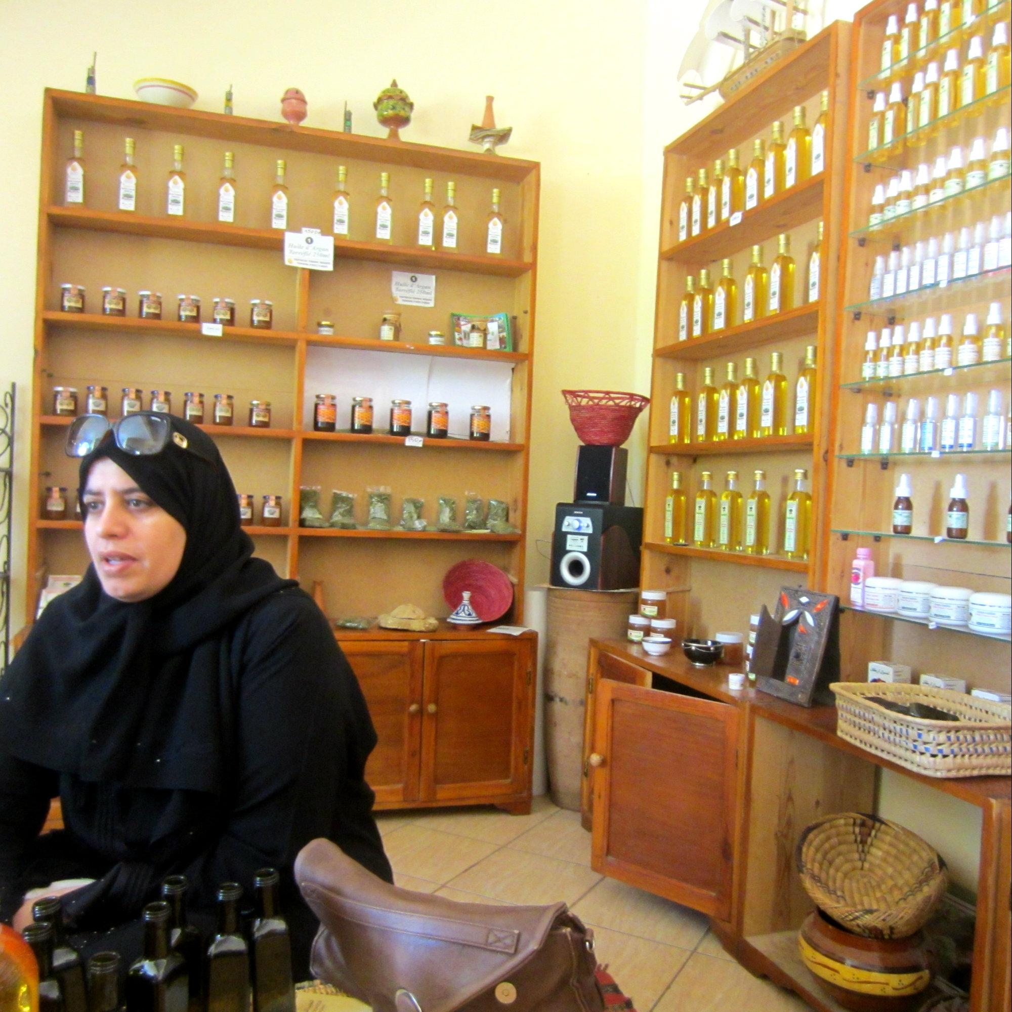 Uleiul de argan din Maroc