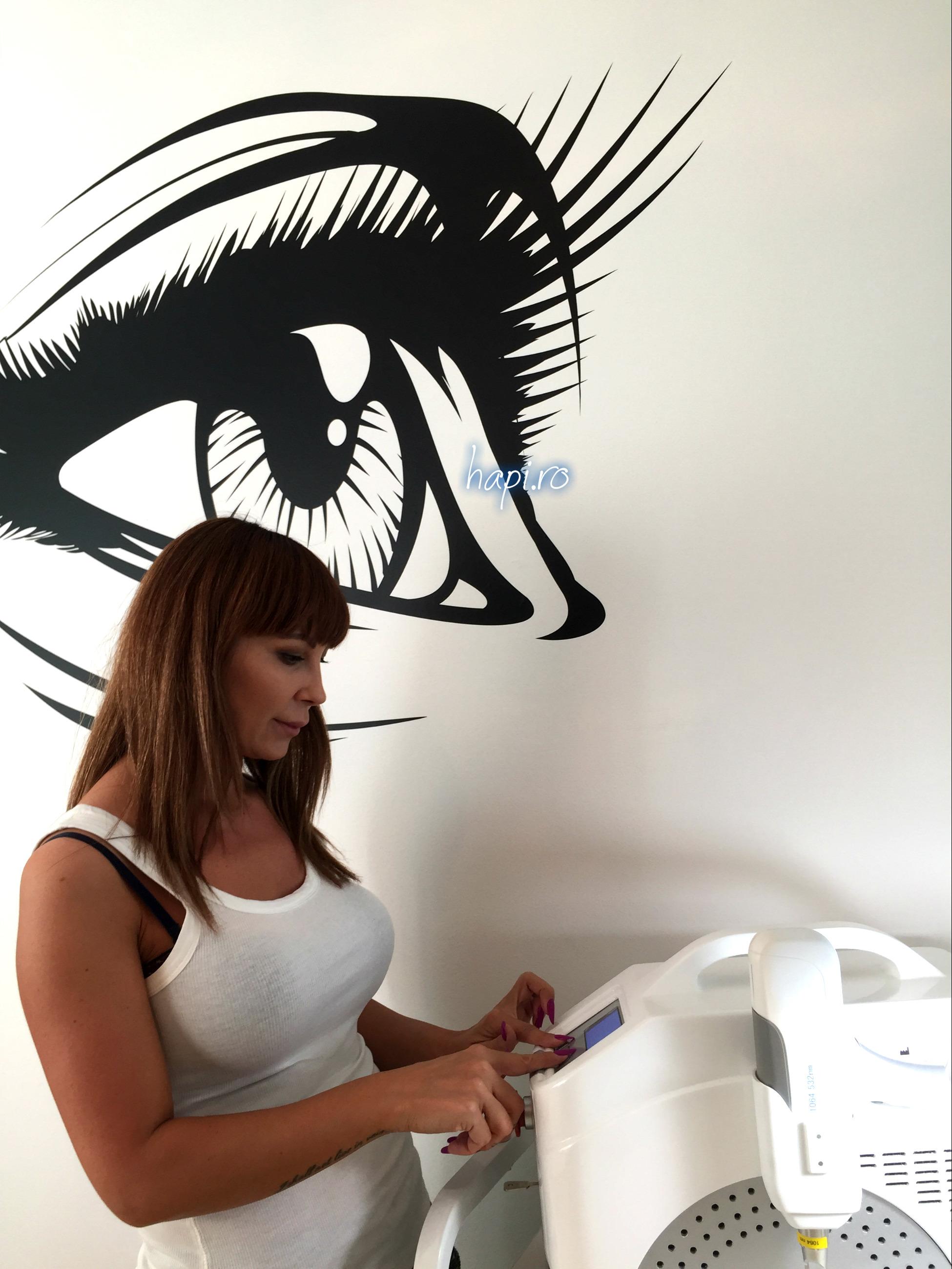 Îndepartarea tatuajelor cosmetice -recomand: Ioana Stanciu
