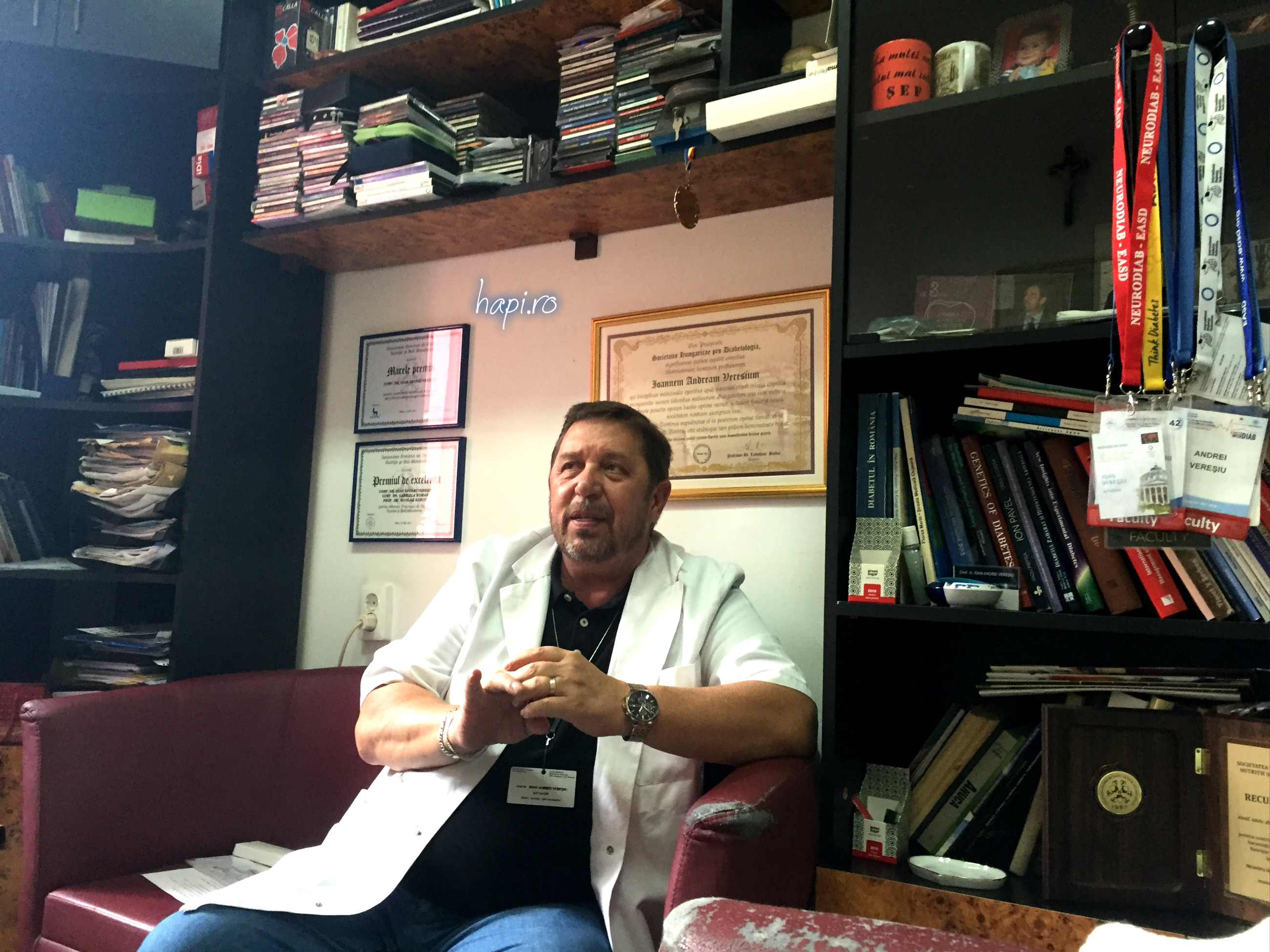 Conf Dr. Ioan Andrei Vereșiu – medicul clujean care-a luptat pentru ca pacienții cu diabet să aibă parte de un Centru multidisciplinar