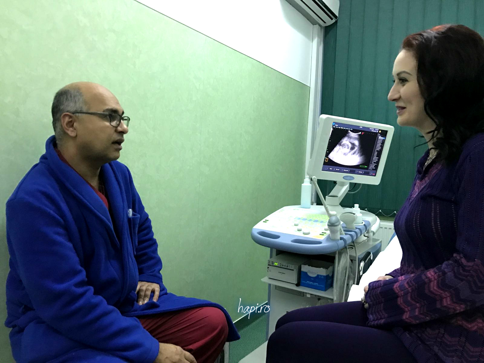 Dr Arash Qazay Yazdi – obstetrică-ginecologie. Empatia din spatele specializării.  Spitalul Municipal Dej